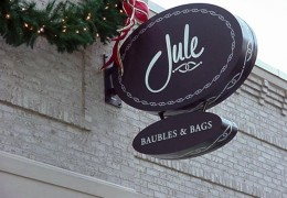Jule Projecting Sign